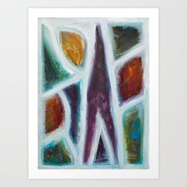 Abstract Painting 20 Art Print