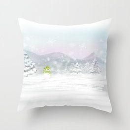 New Year, New Life Throw Pillow