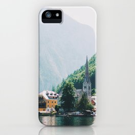 Hallstatt III iPhone Case