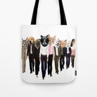 charmaine olivia Tote Bags featuring Olivia by Cristian Emanuel Pop