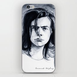 Harry Watercolors B/N iPhone Skin