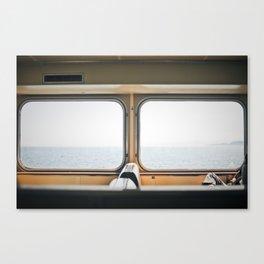 ferry. Canvas Print