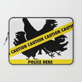 Police Hens Silhouette Laptop Sleeve