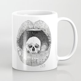 skull in lips Coffee Mug