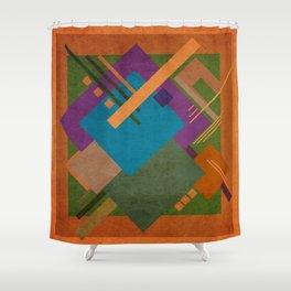Geometric illustration 16 Shower Curtain