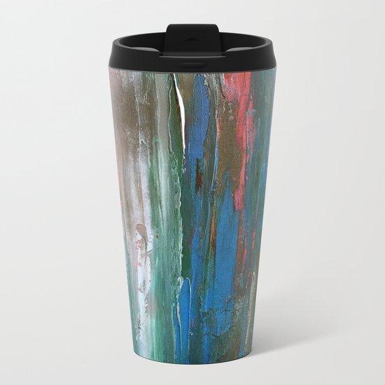 Abstract Painting #1 Metal Travel Mug