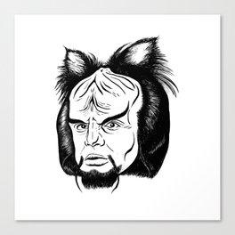 Woorf Canvas Print