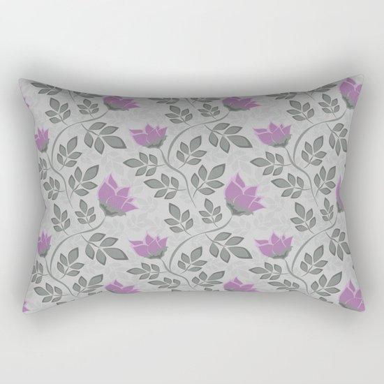 Liana purple flowers . Rectangular Pillow