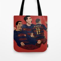 neymar Tote Bags featuring MSN by siddick49