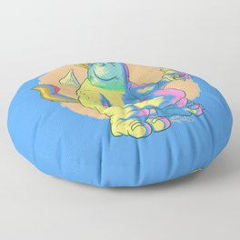 Glarglarac Sure Does Love His Ice Cream Floor Pillow