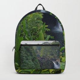 Rainbow Falls in Hawaii Backpack