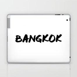 'Bangkok' Thailand Hand Letter Type Word Black & White Laptop & iPad Skin