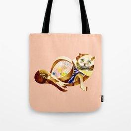 Here Litte Kitty Tote Bag