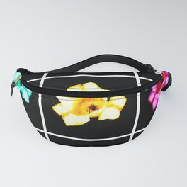 Tulips Collage Fanny Pack