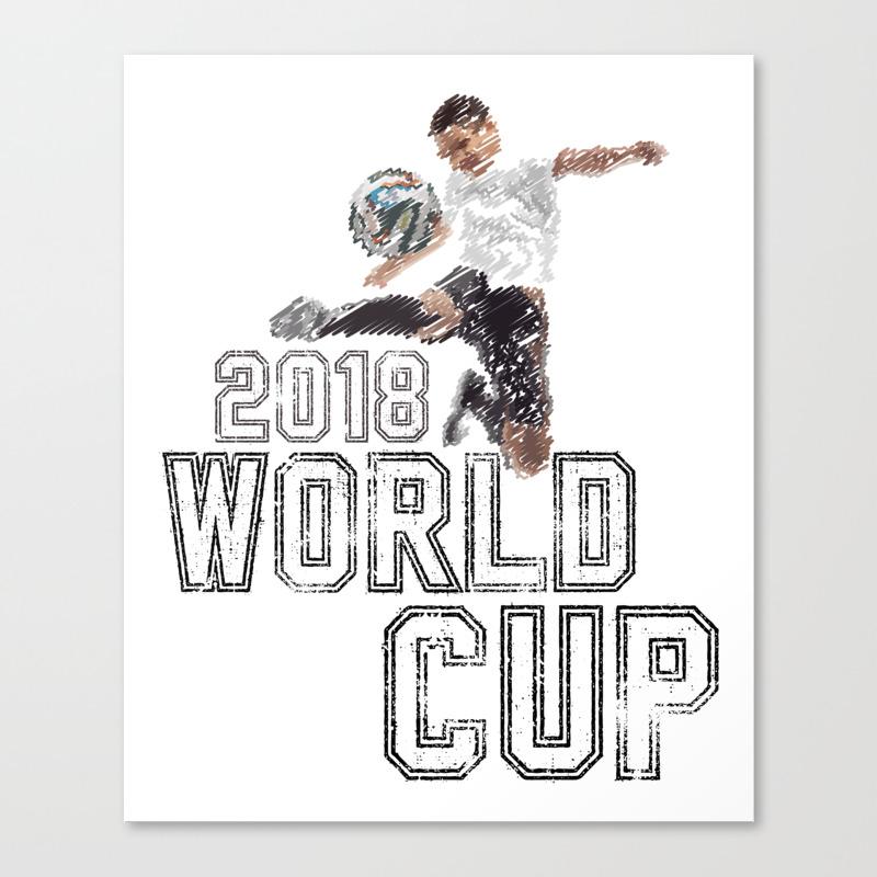 World Cup Canvas Print by Naumovski CNV8685553