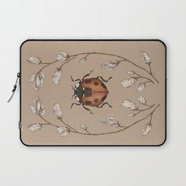 The Ladybug and Sweet Pea Laptop Sleeve