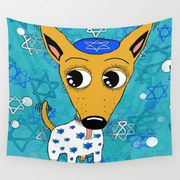 Happy Chihuanukkah! Wall Tapestry