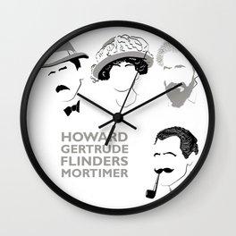 Legendary Archaeologist Wall Clock
