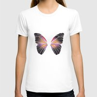 techno T-shirts featuring Techno Butterfly by miss ninja cookie