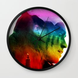 Lexa Pride Wall Clock