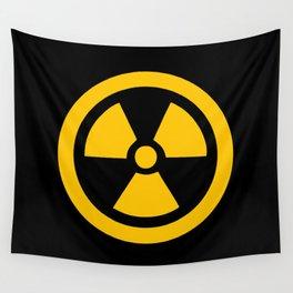 Yellow Radioactive Wall Tapestry