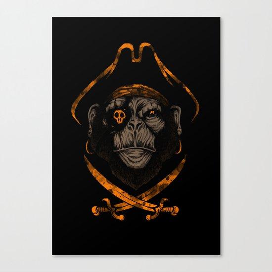 Captain sea monkey Canvas Print