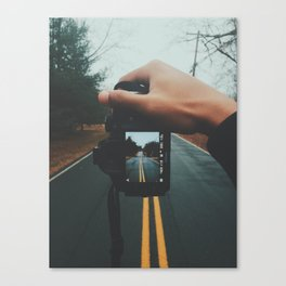 down. Canvas Print