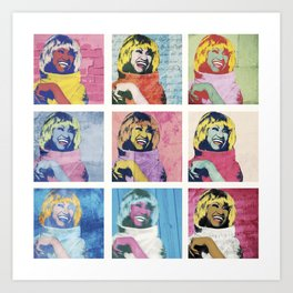 Celia Cruz Pop Art - The Immortal Queen of Salsa - Magical Realism Art Print
