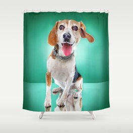 Super Pets Series 1 - Super Buckley 2 Shower Curtain