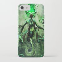 libra iPhone & iPod Cases featuring LIBRA by SOMNIVAGRIOUS