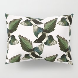 A Tiding Of Magpies Pillow Sham