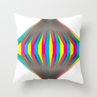 transparent Throw Pillows featuring transparent by Anthony Liptak
