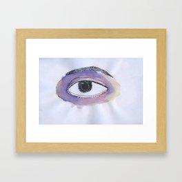 Black Eye Framed Art Print