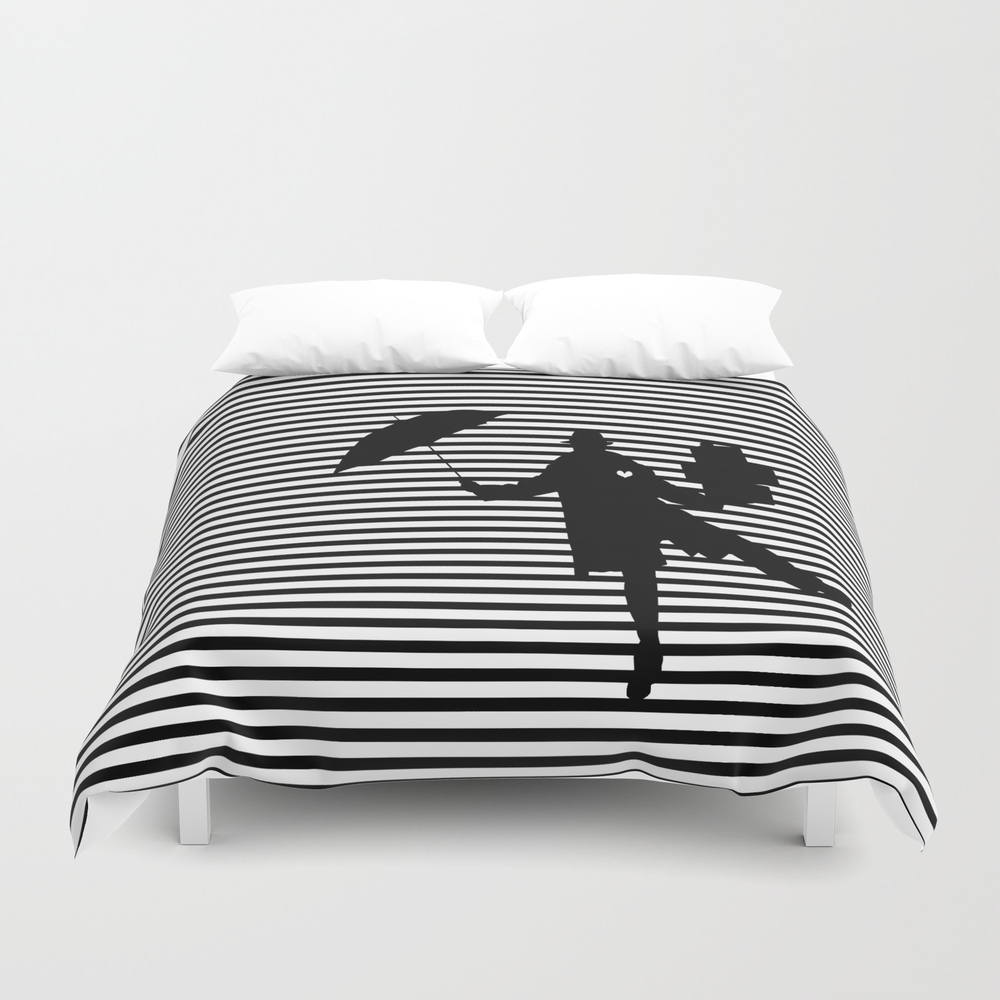 A Woman's Man Duvet Cover by Anthromahe DUV7896453