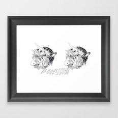 boobicorn Framed Art Print