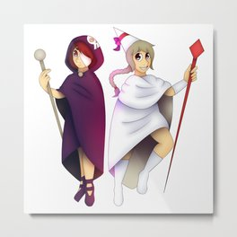 The Arabella sisters Metal Print