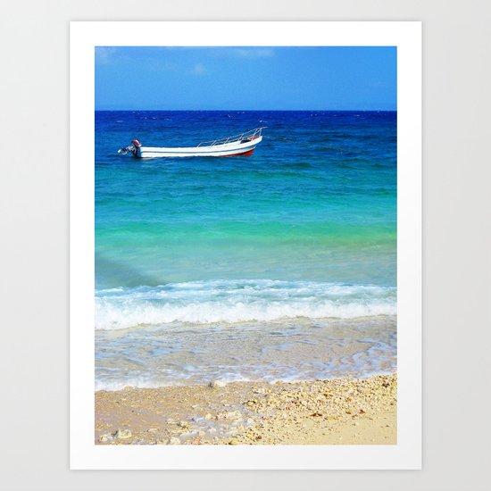 From South sea island, Fiji Art Print