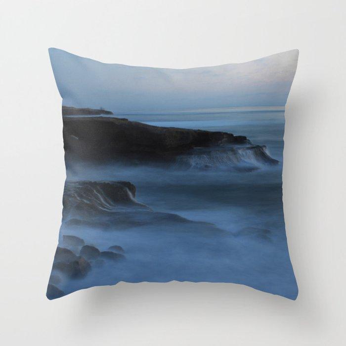 Ocean Beach San Diego Ca, Sunset Throw Pillow