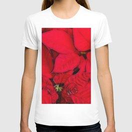 Poinsettia Presentation T-shirt