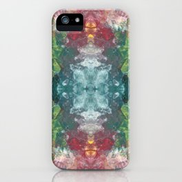 Colorful Marble Pattern iPhone Case