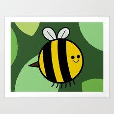 Cutesy Crawlies — Bumblebee Art Print