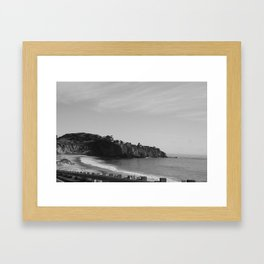 NEWPORT BEACH Framed Art Print