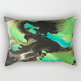 Blue matter Rectangular Pillow