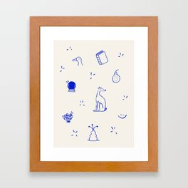 It's the little things Framed Art Print