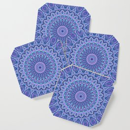 Purple Passion - Mandala Art Coaster