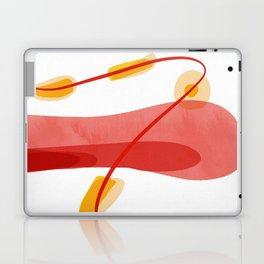 A beginning | Happy Modern Art Laptop & iPad Skin