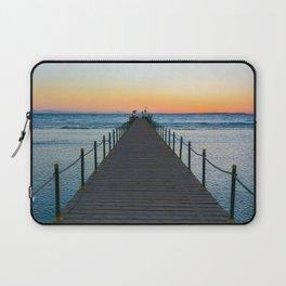 Sunrise on Red Sea Laptop Sleeve