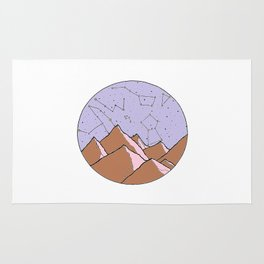 Constellation Mountains Rug