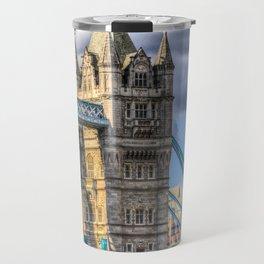 Tower Bridge And The City Travel Mug