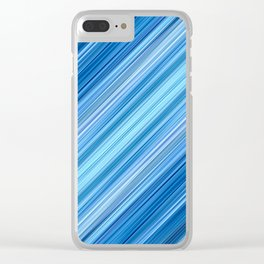 Ambient 1 in Blue Clear iPhone Case